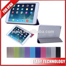 New Product pu leather stand case for ipad mini 2 flip smart case for new ipad mini