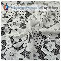 De gama alta de tela de encaje y nupcial del ajuste del cordón en blanco del cordón de los appliques venta al por mayor