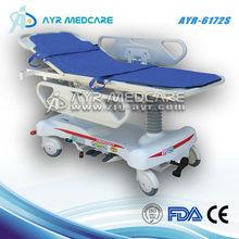 AYR-6172-S emergency trolley bed