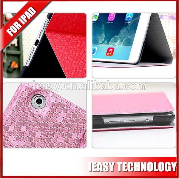 New Luxury pu case for ipad mini 2 flip smart bling bling diamond cover