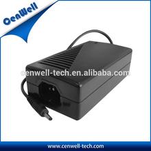 High efficiency AC/DC power adapter input 100~240v ac 50/60hz