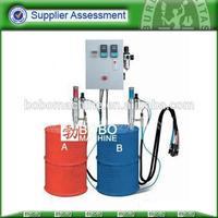 polyurethane foam injection spray machine