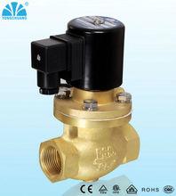 "high temperature 2 way normally open 2"" 12V steam solenoid valve"
