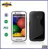 S Line Soft TPU Gel Case For MOTOROLA MOTO E Case For MOTO E---Laudtec