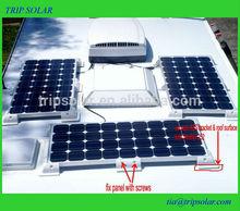 Solar Panel Frame Plastic for Caravan