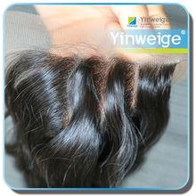 Grade 5A wholesale Lace closure virgin hair invisible three part lace closure