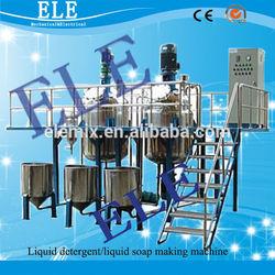 Cosmetic cream homogenizing machine