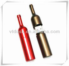 Promotional metal star war iron man usb flash drive 128gb metal bottle usb stick
