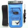 wholesale alibaba Blue PVC swimming waterproof bag for samsung galaxy s4 mini with headphone jack