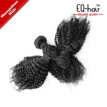 Abundant stock top grade 5A kinky curly malaysian virgin hair