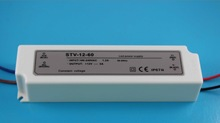 High power LED Driver Single output 12v 100w plastic housing constant Voltage DC LED Driver conform to ce&rohs led power supply