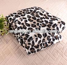 Polyester Animal Printed Mink Blanket