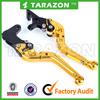 High quality CNC aluminium alloy motorcycle brake clutch lever for Bajaj Pulsar Series