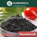 Huminrich leonardita super brillante k- humatos orgánica fertilizante foliar