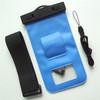 wholesale alibaba Blue PVC swimming waterproof bag for samsung galaxy note 3 n9000 with headphone jack