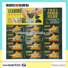 europe standard high viscosity super glue with REACH certificate super glue 3g