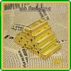 OEM logo gold bar usb flash drive,bulk cheap glod thumb drive2gb,4gb,8gb, 16gb, 32gb usb disk,wholesale price usb memory stick