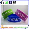 2014 hot selling color filled silicone bracelet
