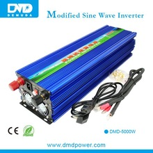 Micro inverter 12v 220v 5000watt off grid tie solar power battery inverter/converter with charger with long life span