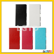Fine Sheepskin Texture Flip Leather Case with Credit Card Slots & Holder for Nokia Lumia 1520 Bendit