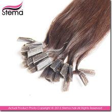 unprocessed reasonable price pre-bonded hair I/V/U tip hair extension