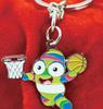 2014 Nanjing Youth Sport Games mascot metal keychain