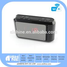 OEM--Mini WiFi Table Clock Cameras/ Micro Wireless Hidden Camcorders/Secret Video Recording Gadgets