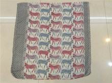 Alibaba express fashion voile scarf 2012 printed with zebra pattern