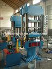 Rubber Product Making Machinery / Car Floor Mat Hydraulic Vulcanizing Press / Rubber Plate Vulcanizer