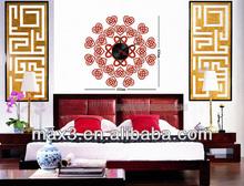 Classical wall sticker decals clock home decor modern design
