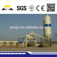 HZS 40 precast concrete batching plant for sale