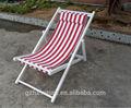 Faia cadeira de praia com travesseiro, lona durável cadeira de praia dobrável