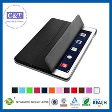 Professional OEM 2014 most famous leather for ipad min smart cover case