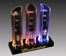 led plastic display/ice cube display for sale