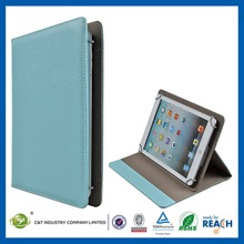 Fashion cheap unbreakable leather compendium for ipad case