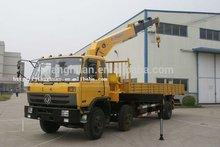 Dongfeng Hydraulic cargo Truck mounted Crane 8ton
