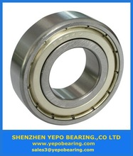 Hot sale/China Yepo brand /low noise/High speed/good quality/precision/Embroidery machine bearing 6000 series /6000 2RS/6000 ZZ