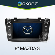 """2010 hot selling 8"""" HD Touch screen 2 din auto radio new mazda 3 gps car dvd for"""
