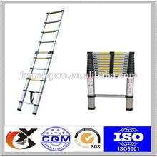 2.6m Aluminium Telescopic Ladder with different parts
