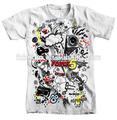 La pequeña orden personalizado de impresión faded glory t- shirt