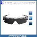 Sg100 HD 720 P a prueba de agua gafas de sol ocultos cámara de vídeo