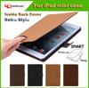 Retro Flip Folio PU Leather Stand Case Smart Cover For iPad mini 2