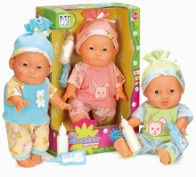 colorful fun eco material ABS creative vinyl baby dolls small with EN71