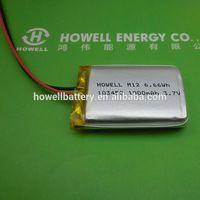 Authentic MOLI 103450 1800mah 3.7V ICP103450CA