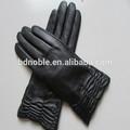 caliente venta de accesorios de cuero mujer guantes de moda de estilo