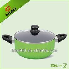 Alluminio non- bastone pentole a induzione salsa pentola