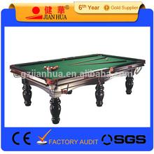 Tamanho médio mesa de Snooker para venda 10ft
