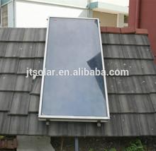 Home solar pool flat solar collector