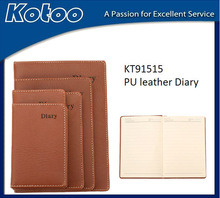 Fashional different size office working notebook organizer
