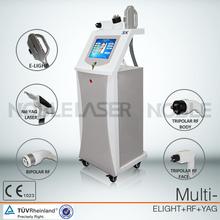 Beauty salon equipments/elight + nd yag elight ipl rf nd yag q switched laser